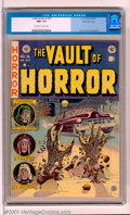 Golden Age (1938-1955):Horror, Vault of Horror #26 Gaines File pedigree 8/11 (EC, 1952). ClassicJohnny Craig cover. Illustrations from this issue were use...