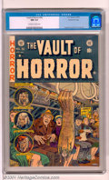 Golden Age (1938-1955):Horror, Vault of Horror #30 Gaines File pedigree 9/12 (EC, 1953). A gorysevered arm cover highlights this high grade beauty. Part o...