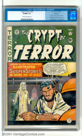 Golden Age (1938-1955):Horror, Crypt of Terror #19 Bethlehem pedigree (EC, 1950). Last issuebefore title change has a spooky female Voodoo-Zombie cover by...