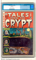 Golden Age (1938-1955):Horror, Tales From the Crypt #28 (EC, 1952). A beautiful copy with deep,rich cover colors. Slightly rusted staples and very slight...