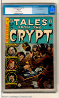Golden Age (1938-1955):Horror, Tales From the Crypt #42 Gaines File pedigree 2/12 (EC, 1954). Agorgeous copy with a classic Jack Davis vampire cover. Stun...