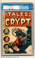 Golden Age (1938-1955):Horror, Tales From the Crypt #43 Gaines File pedigree 2/12 (EC, 1954). Anoutstanding Jack Davis cover leads off this superb entry i...