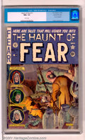 "Golden Age (1938-1955):Horror, The Haunt of Fear #11 Gaines File pedigree 2/12 (EC, 1952). Thegruesome cover by ""Ghastly"" Graham Ingels made this book a b..."