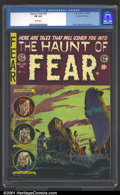 Golden Age (1938-1955):Horror, The Haunt of Fear #28 Gaines File pedigree 1/12 (EC, 1954).Fabulous high-grade copy of one of the seminal horror titles of ...