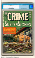 Golden Age (1938-1955):Crime, Crime SuspenStories #5 (EC, 1951). Still more crime and suspense, and even a terror-tale from the Haunt of Fear - in other w...