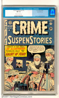 Golden Age (1938-1955):Crime, Crime SuspenStories #10 Gaines File pedigree 9/12 (EC, 1952). Books from the Gaines File pedigree tend to be the Holy Grail ...