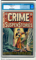 Golden Age (1938-1955):Crime, Crime SuspenStories #13 (EC, 1952). Classic Johnny Craig cover. Lizzie Borden takes center stage in this exceptional high-gr...