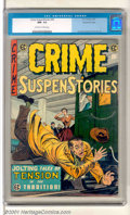 Golden Age (1938-1955):Crime, Crime SuspenStories #26 Gaines File pedigree 9/12 (EC, 1955). Classic Kamen subway cover. Two creases to the bottom left fro...