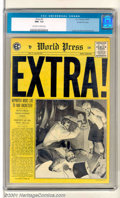 Golden Age (1938-1955):Crime, Extra! #3 Gaines File pedigree 9/12 (EC, 1955). Ripped from the pages of the world's headlines! Very attractive copy with a ...