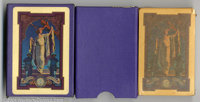 Maxfield Parrish Playing Cards (Edison Mazda, 1919). The second of a complete collection of Edison Mazda Parrish decks...