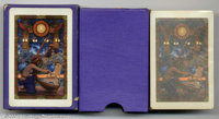 "Maxfield Parrish Playing Cards (Edison Mazda, 1922). Presented here, ""Egypt"" is another rare and underrated de..."
