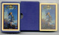 """Illustration Art:Maxfield Parrish Playing Cards, Maxfield Parrish Playing Cards (Edison Mazda, 1930). The most popular image of the series, """"Ecstasy"""" is actually quite scar..."""