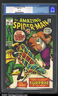 Amazing Spider-Man Group (Marvel, 1970-73). Here's a terrific lot of three high-grade issues, all in CGC NM- 9.2. Lot in...
