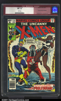 X-Men Bronze Age Group (Marvel, 1979). Here is an outstanding lot of four classic issues of X-Men, all with outstandin...