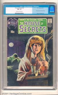 House of Secrets #92 (DC, 1971). A beautiful copy of a classic book, presenting the origin and first appearance of the S...