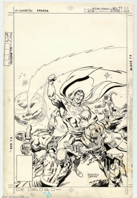 Rich Buckler and Bob Oksner - Original Cover Art for Action Comics #478 (DC, 1977)