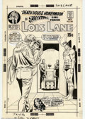 Original Comic Art:Covers, Curt Swan and Murphy Anderson - Original Cover Art for Superman'sGirl Friend Lois Lane #105 (DC, 1970). Lois is married...b...