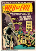 "Golden Age (1938-1955):Horror, Web of Evil Group, Bethlehem pedigree (Quality, 1953). Thiscollection of ""Spine-Tingling Tales of Mystery and Suspense"" inc...(Total: 2 Comic Books Item)"