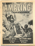 Golden Age (1938-1955):Science Fiction, Amazing Adventures prototype (Ziff-Davis, 1950). A truly rare andunique item, this is an eight-page prototype of the first ...