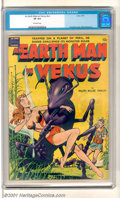 Golden Age (1938-1955):Science Fiction, An Earth Man on Venus (nn) (Avon, 1951). One-shot issue has anattacking Giant Ant cover by Gene Fawcette and story art by W...