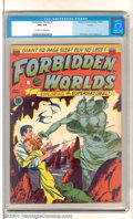Golden Age (1938-1955):Science Fiction, Forbidden Worlds #1 Aurora pedigree (American Comics Group, 1951).Exploring the supernatural with a fantastic double-headed...