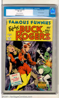 Golden Age (1938-1955):Science Fiction, Famous Funnies #209 (Eastern Color, 1953). One of the mostdesirable issues of this long-running title, this is where BuckR...