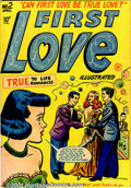 Golden Age (1938-1955):Romance, First Love Group (Harvey, 1949-50). An attractive mid-grade groupof Romance books includes First Love #2 FN/VF; #3 VF-;... (Total:10 Comic Books Item)
