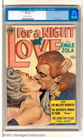 Golden Age (1938-1955):Romance, For a Night of Love (nn) (Avon, 1951). Scarce high-grade copy ofthis first and only issue has an attractive painted cover b...