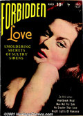 Golden Age (1938-1955):Romance, Forbidden Love Group (Quality, 1950). Three scarce issues: #1 FN;#3 VG+; and #4 FN+. All have photo covers with artwork by ...(Total: 3 Comic Books Item)