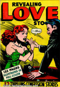 Golden Age (1938-1955):Romance, Fox Giants Group (Fox, 1949). This group of scarce Fox Giant comicsincludes Album of Love FN-; Love Thrills VG;... (Total: 4 ComicBooks Item)