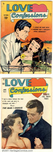 Golden Age (1938-1955):Romance, Love Confessions Group (Quality, 1949). This lot includes issues #1VG+ (Bill Ward cover/ Paul Gustavson and Ward interior a... (Total:4 Comic Books Item)
