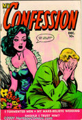 Golden Age (1938-1955):Romance, Fox Romance Comic Group (Fox Features, 1949-50). Group of sevenscarce comic books includes: My Confession #7 VG; #8 FN-... (Total:7 Comic Books Item)