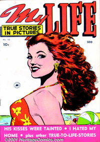 My Life Group (Fox Features, 1948-50). Solid group of Romance comics includes issues #5 FN-; #6, 7 VG+; #10 VG; and #15...