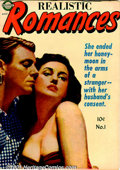 Golden Age (1938-1955):Romance, Realistic Romances Group (Avon, 1951-52). A run that includes issues #1 FN+; #2 VG; #3, 5, 6 FN; and #7, 8 VG. Features art... (Total: 7 Comic Books Item)