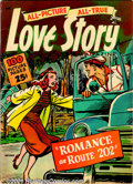 Golden Age (1938-1955):Romance, Romance Comics Group (St. John, 1949). Group includes Giant ComicsEdition #7 FN; #13 FN (Matt Baker and Joe Kubert art)... (Total: 3Comic Books Item)