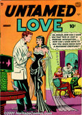 Golden Age (1938-1955):Romance, Romance Group (Quality, 1950). A solid group of romance booksincludes Untamed Love #1 FN/VF; #2 VG; #3 VG; #4 VG/FN; an...(Total: 6 Comic Books Item)