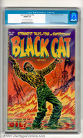 Golden Age (1938-1955):Horror, Black Cat Mystery #44 (Harvey, 1953). Strange Tales of Fear andSuperstition! Pre-code horror at its finest, featuring nasty...
