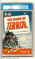 Golden Age (1938-1955):Horror, House of Terror #1 (St. John, 1953). 3-D first issue (glassesincluded) has a spooky Haunted House cover and artwork by such...