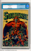 Golden Age (1938-1955):Crime, Suspense Comics #11 (Continental Magazines, 1946). A classic L.B. Cole Devil cover highlights this desirable comic. There is...