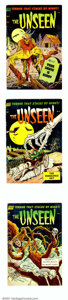 Golden Age (1938-1955):Horror, The Unseen Group Bethlehem pedigree (Standard, 1952). Attractivegroup of books from this horror title includes issues #5 (#...(Total: 4 Comic Books Item)