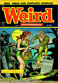 Weird Horrors Group (St. John, 1952). Group of comics from this horror title includes issues #1 FN with tape on inside c...