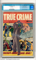 Golden Age (1938-1955):Crime, True Crime Comics #9 (Canadian Edition; Alval Publishing, 1949). This is the tough-to-find Canadian reprint of True Crime ...
