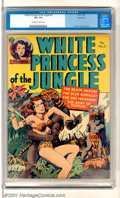 Golden Age (1938-1955):Adventure, White Princess of the Jungle #3 Bethlehem pedigree (Avon, 1952). Cool attacking-natives/ bondage cover as Taanda rushes in t...
