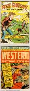 Golden Age (1938-1955):Romance, Giant Western Group (St. John, 1949). Two rare 132-page square-bound Giants. This lot include Giant Comics Editions #6 V... (Total: 2 Comic Books Item)