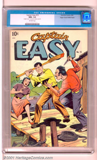 Captain Easy #15 Mile High pedigree (Standard, 1949). An impressive copy from a classic pedigree. Aside from the high gr...