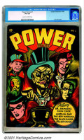 Golden Age (1938-1955):Superhero, Power Comics #3-4 (Holyoke Publications, 1944-45). Solid low-grade copies of these scarce issues have covers by Golden-Age g... (Total: 2 Comic Books Item)