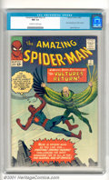 Silver Age (1956-1969):Superhero, The Amazing Spider-Man #7 (Marvel, 1963). Early issue has thesecond appearance of the Vulture with cover and story art by S...