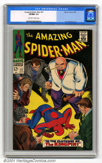 Amazing Spider-Man Group (Marvel, 1966-71). High-grade group of six Spider-Man gems includes issues #32 CGC VF/NM 9.0 Li...