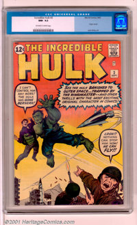 The Incredible Hulk #3 (Marvel, 1962). The Hulk goes BERSERK in the thrill-packed third issue of his incredible title, s...