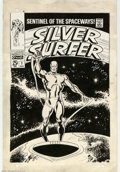Original Comic Art:Covers, John Buscema and Joe Sinnott - Original Cover Art for Silver Surfer#1 (Marvel, 1968). Heritage Comics Auctions is very prou...